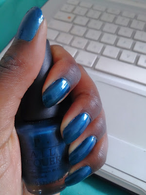 The Unforgetably Blue - Opi
