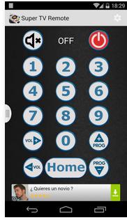 5. Super TV Remote Control
