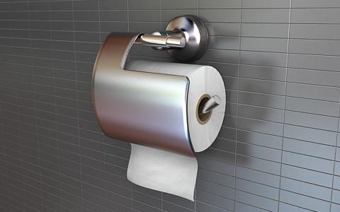 toilet paper 3d model free