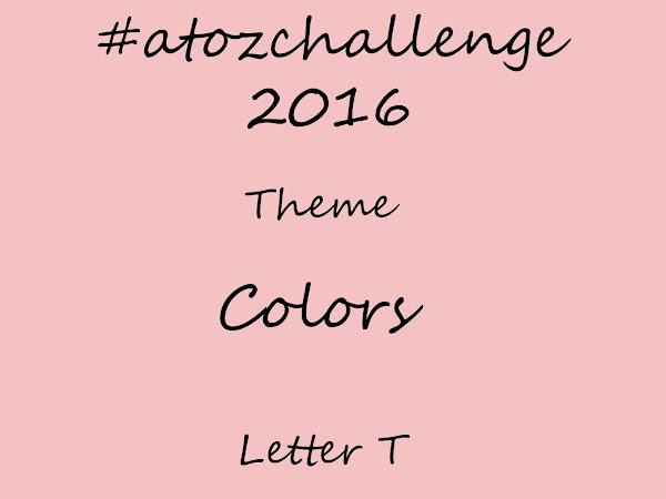 #atozchallenge 2016//T is for Tea Rose