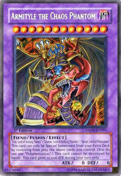Yugioh Armityle The Chaos Phantom