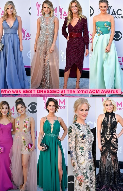 7f39d3b27 country routes news: 52nd Academy of Country Music Awards Fashion