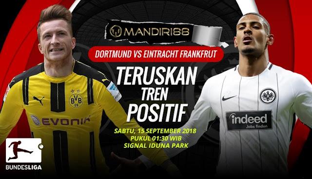 Prediksi Borussia Dortmund Vs Eintracht Frankfrut, Sabtu 15 September 2018 Pukul 01.30 WIB