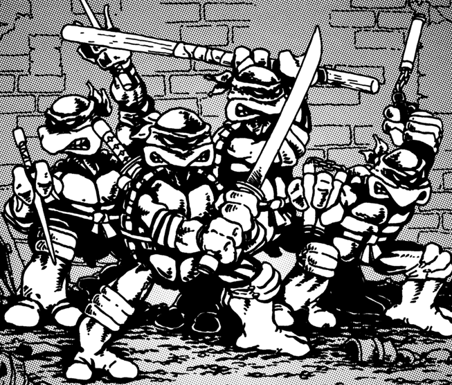 Those Ninja Turtles Have Come A Long Way