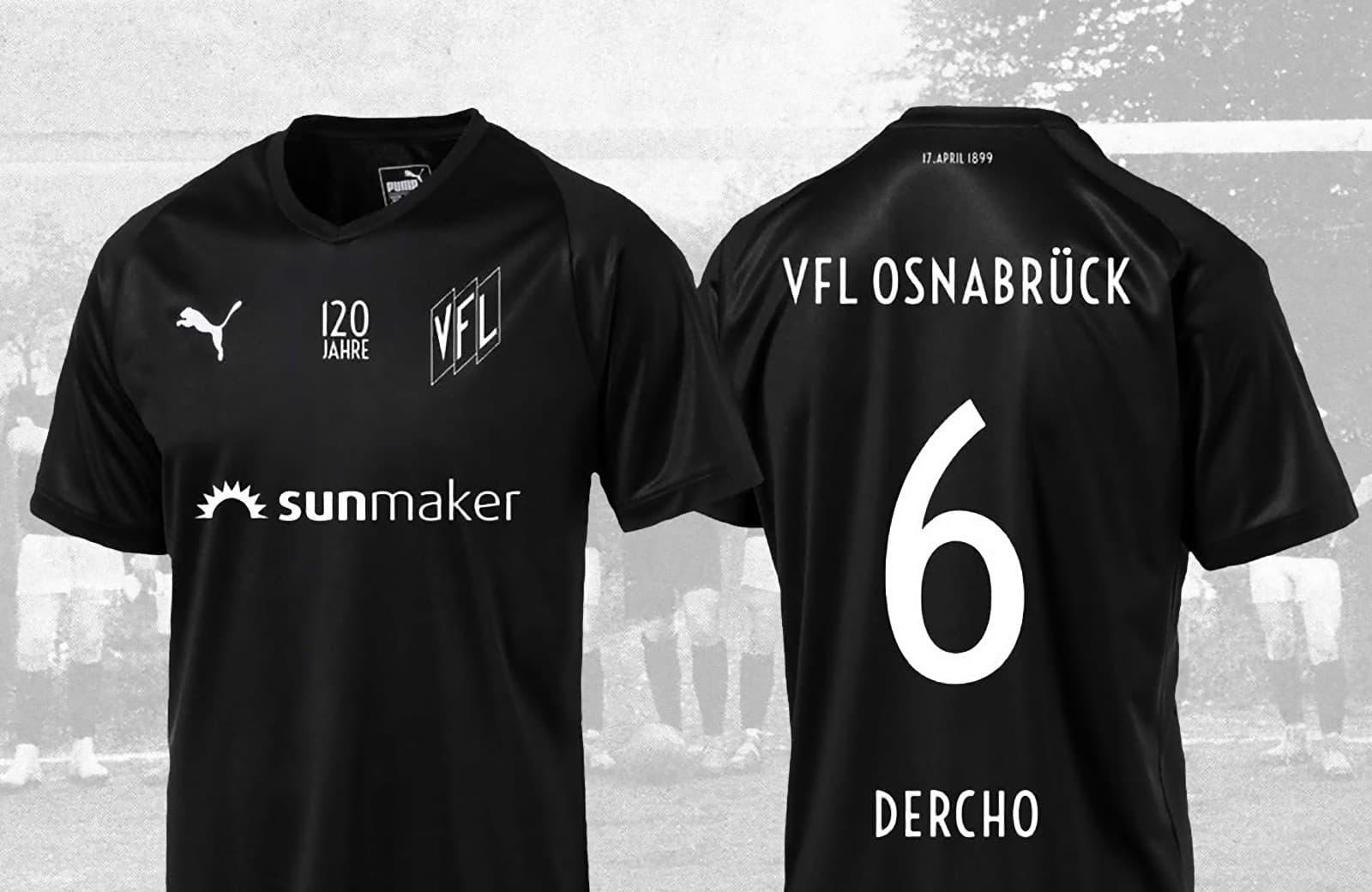 VfLオスナブリュック 120周年記念ユニフォーム - ユニ11