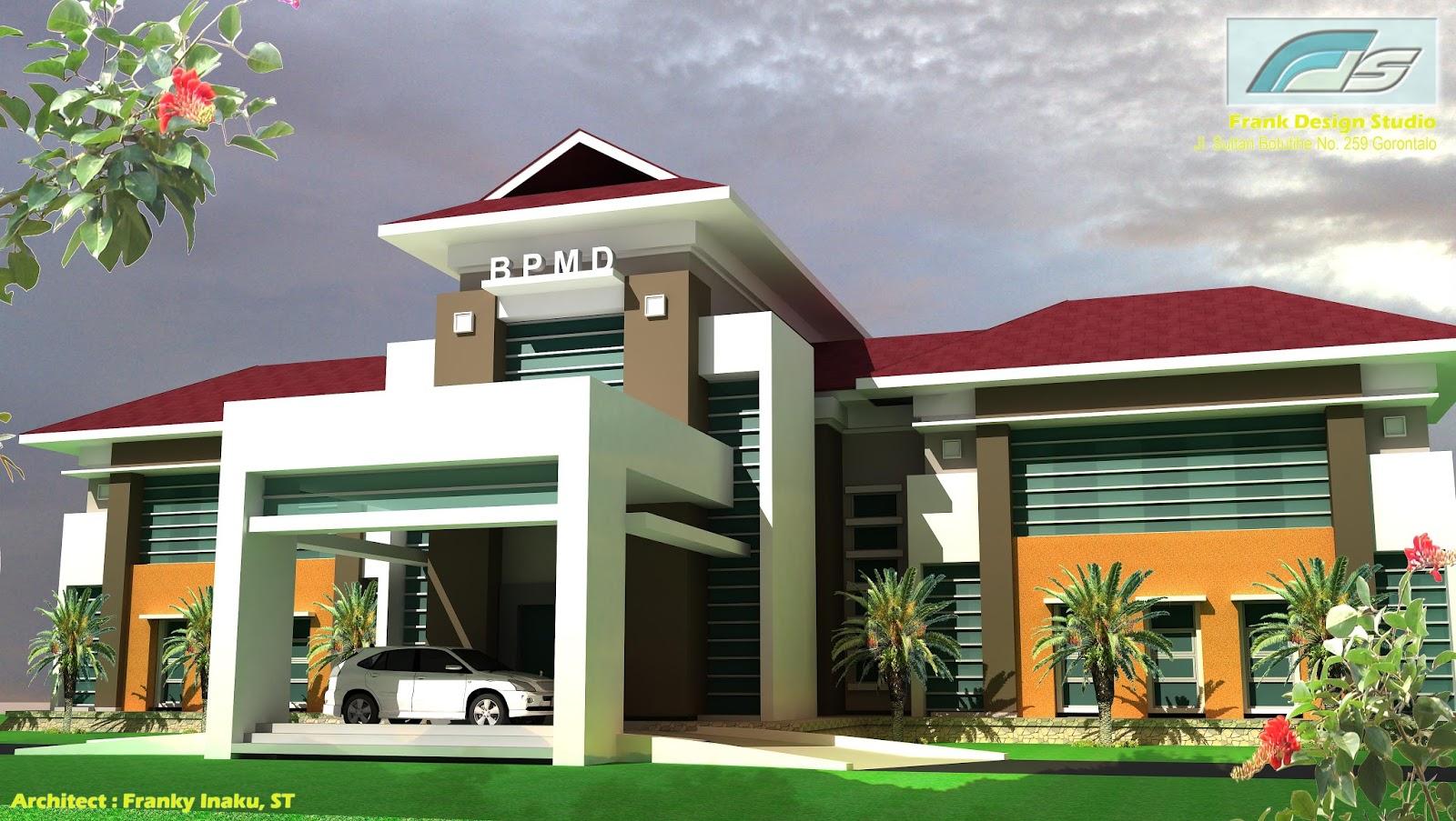 Proyek Provinsi Gorontalo Rancang Bangun Arsitektur