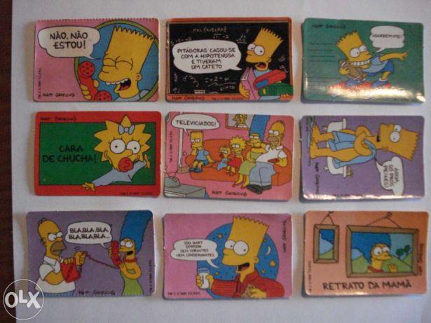... da colecção dos Simpsons no Bollycao
