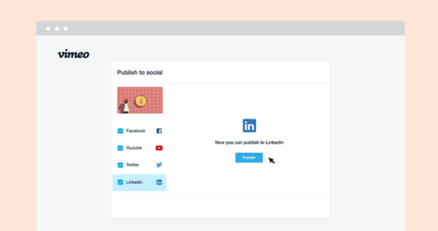 LinkedIn Company Pages Can Now Publish Video Content Directly from Vimeo: eAskme