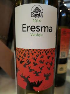 Bodega La Soterraña Eresma Verdejo 2014 - DO Rueda, Spain (88 pts)