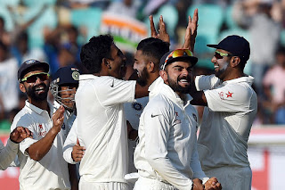 India Beat England by A Good Margin of 246 Runs in The Second Test