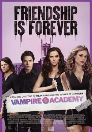 Film Vampire Academy 2014 di Bioskop
