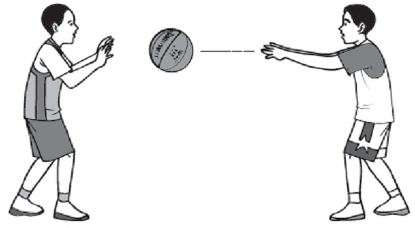 Throwing and Catching Basketball