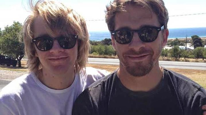 Aussie actor Hugh Sheridan's brother missing in Nepal
