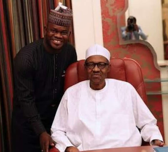 Yahaya Bello to Buhari: 'I'm the Ambassador of Youths in Governance'
