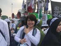 Penuh Haru, Siem Mei Hwa Ungkap Pengalamannya Ikuti Aksi Reuni 212