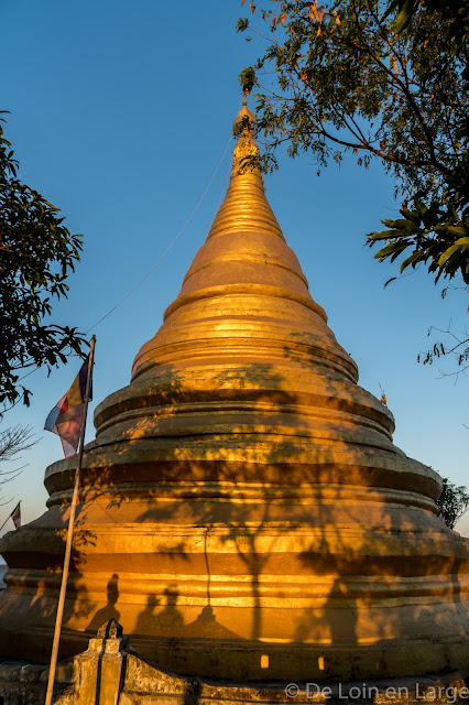 Pagode Shwetaung-Mrauk-U-Birmanie-Myanmar
