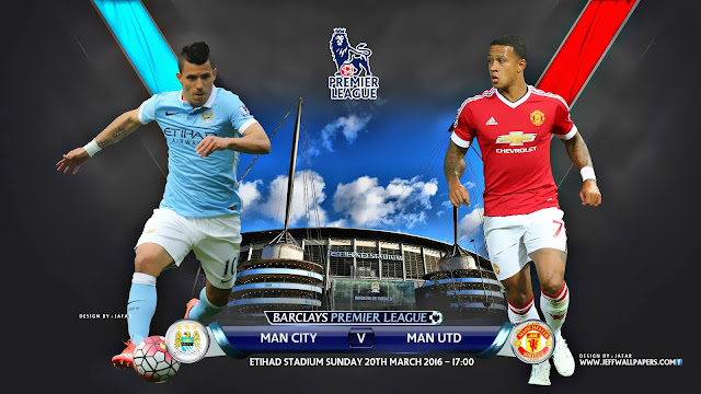 Manchester City x Manchester United (19/03/2016) - Premier League - Data, Horário e TV