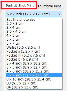 cetak foto berbagai ukuran 2X3, 3X4, 4X6, 2R, 3R, 4R, 5R, 6R, 8R, 10R