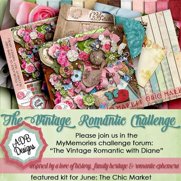 Brand new challenge at My Memories forum