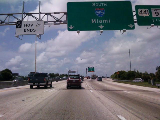 Viaje en auto desde Miami a Orlando y de Orlando a Miami