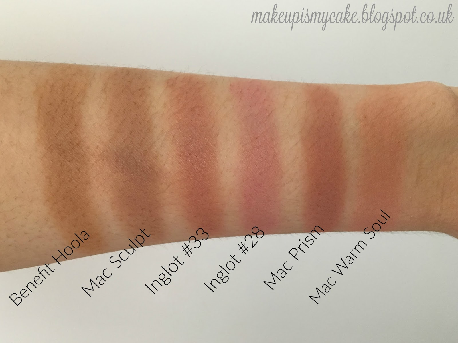 Neutral Blushes and Mac Prism Dupe
