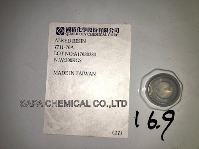 Alkyd 7711 - 70A, Dầu béo