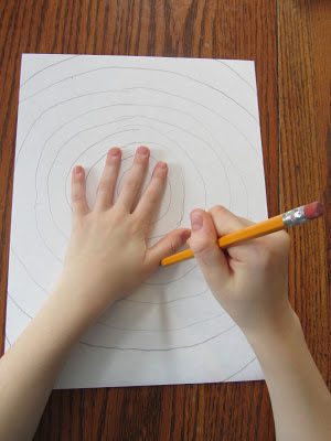 Optical Illusion Art-simple art project that promotes cognitive skills-The Unlikely Homeschool