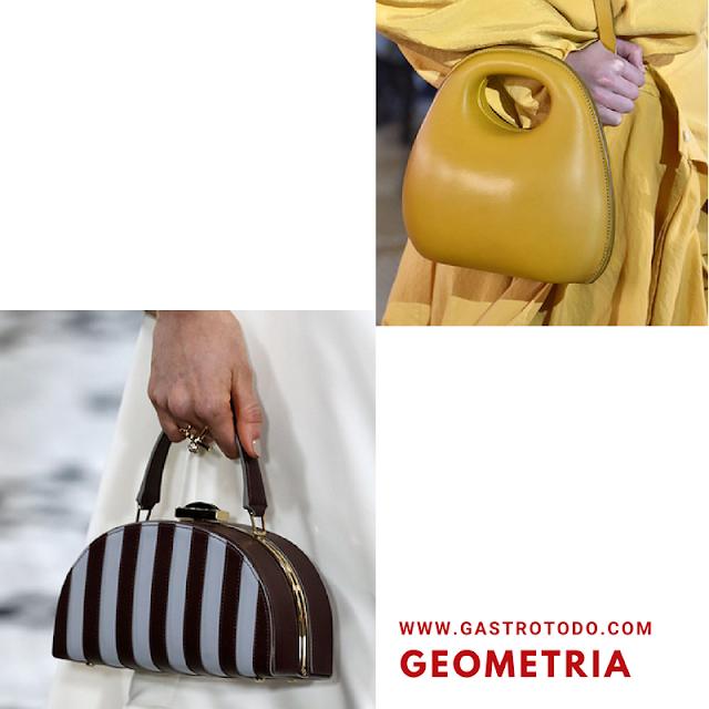 La geometria no está reñida con la moda.