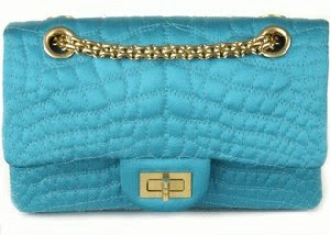 Authentic CHANEL Bag In Turquoise