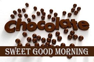 Sweet Good Morning Chocolate Wallpaper Image