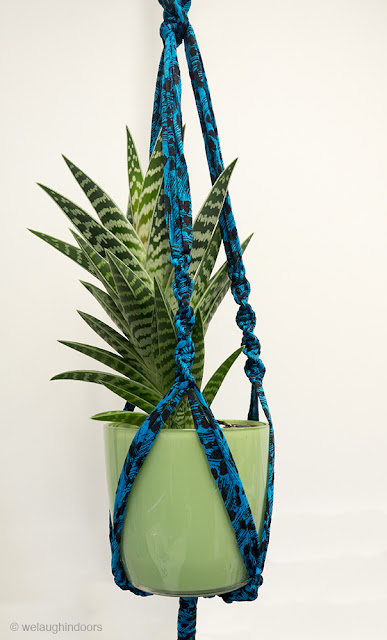 Macrame plant hanger by Welaughindoors