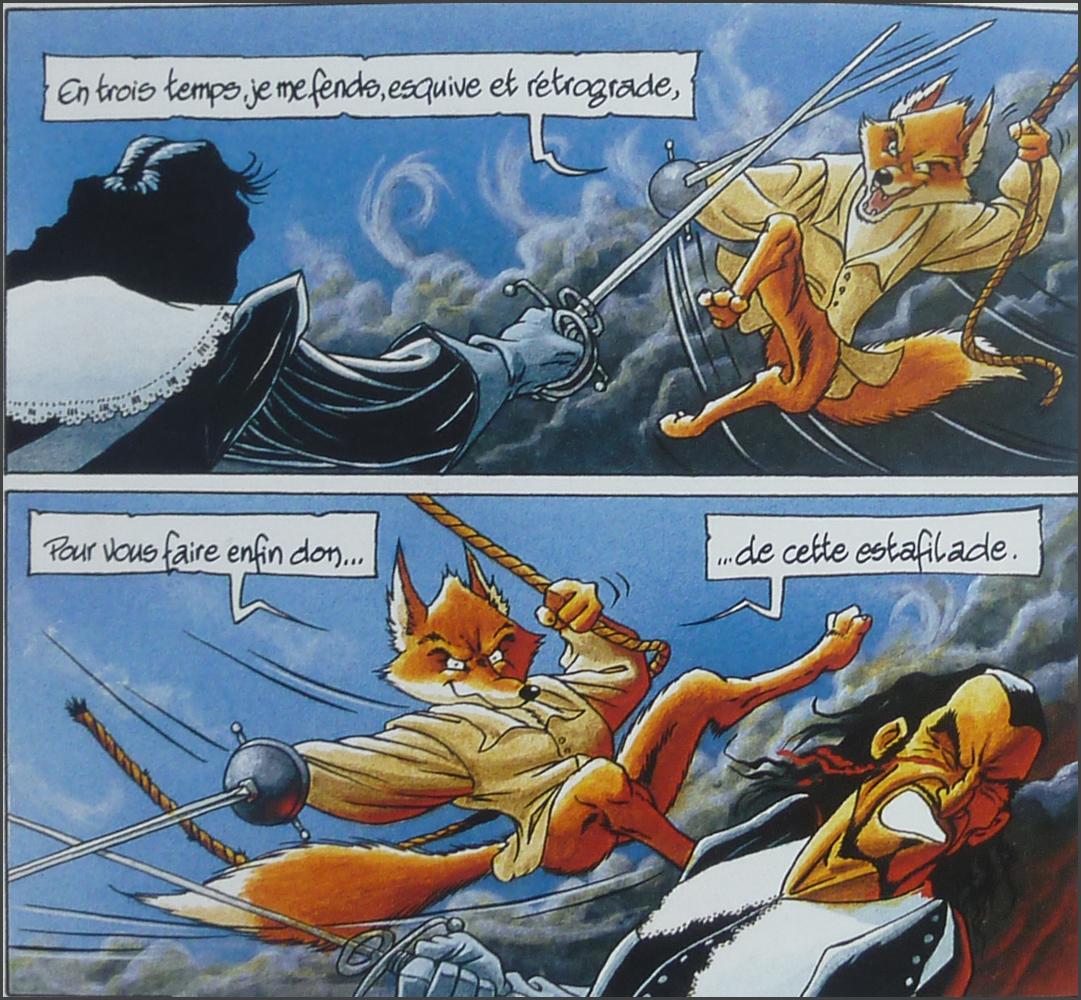 De Cape et de Crocs (T1 à T6) - Alain Ayroles et Jean-Luc Masbou - Me,  Darcy and I
