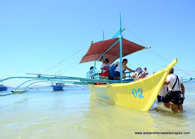 pump boat in Sipalay