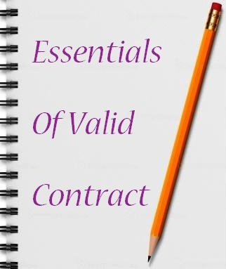 Of Valid Contract