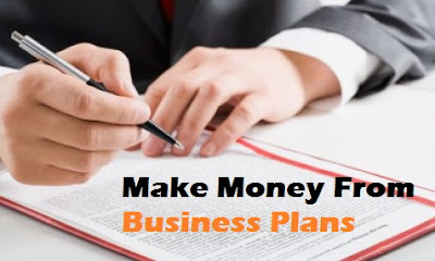 Make money from business plans