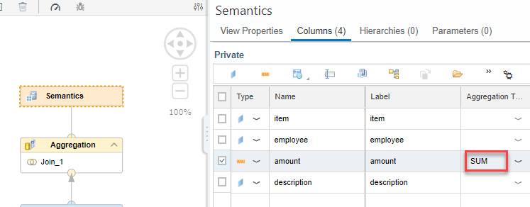 Example Optimize Join Columns
