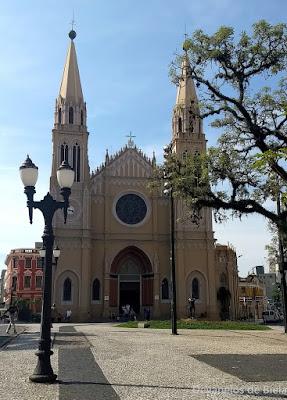 Curitiba Free Walking pelo Centro histórico - Catedral Basílica