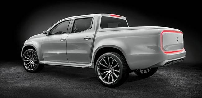 2018 New Mercedes-Benz X-Class Pick-up Concept Ute Revealed