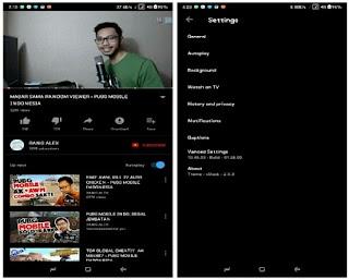 YouTube Black Mod Apk tanpa Iklan v13.46.53 Terbaru 2018
