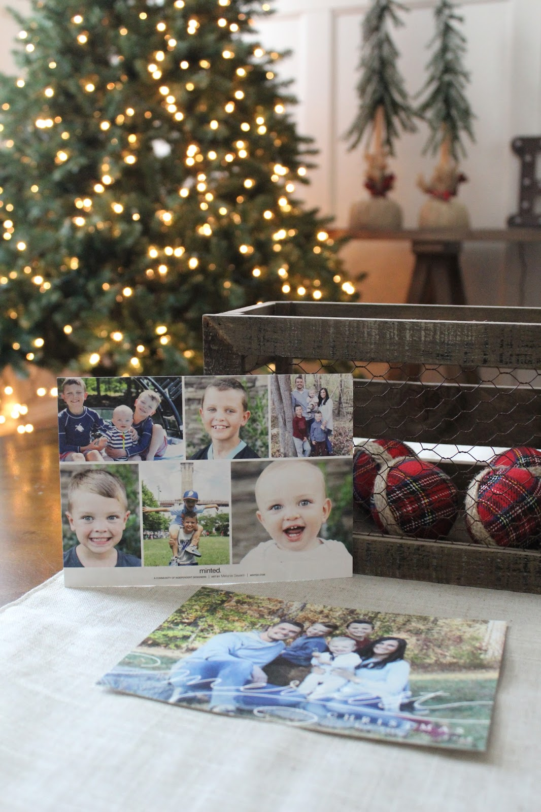 Minted Christmas Cards | Stilettos and Diapers