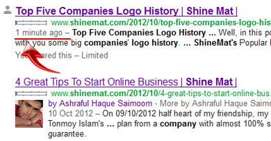 Google crawling at shinemat.com