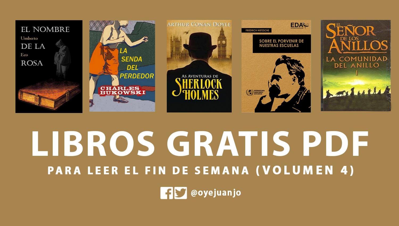 5 Libros PDF Para El Fin De Semana (Vol. 4)