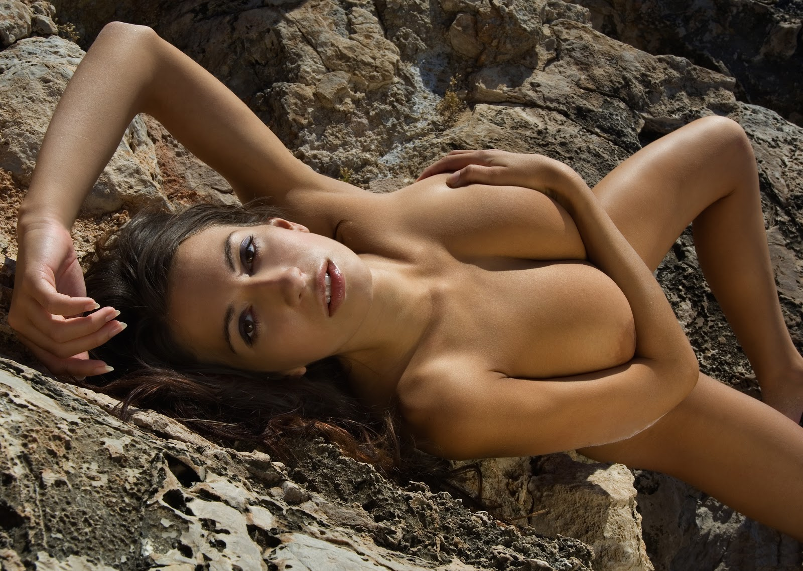 Big tit model