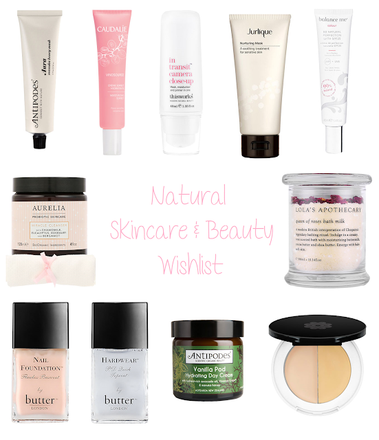 Beauty | Natural Skincare & Cosmetics Wishlist