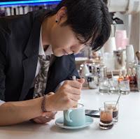 Arte sobre el café por Lee Kang Bin