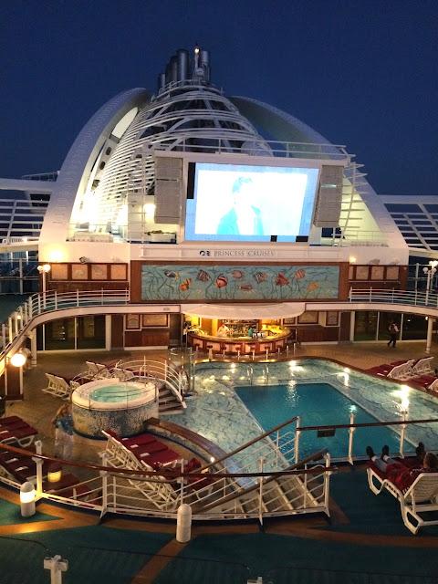 princess cruises movie under the stars