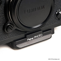 Hejnar Photo Announced Dedicated Arca Style QR Plate for Fuji X-T3