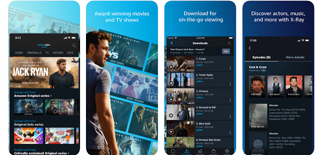 Download Amamzon Prime Video 8.11 IPA for iPhone