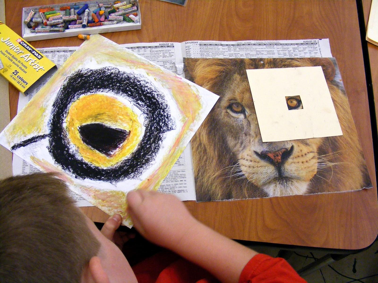 Suffield Elementary Art Blog 4th Grade Animal