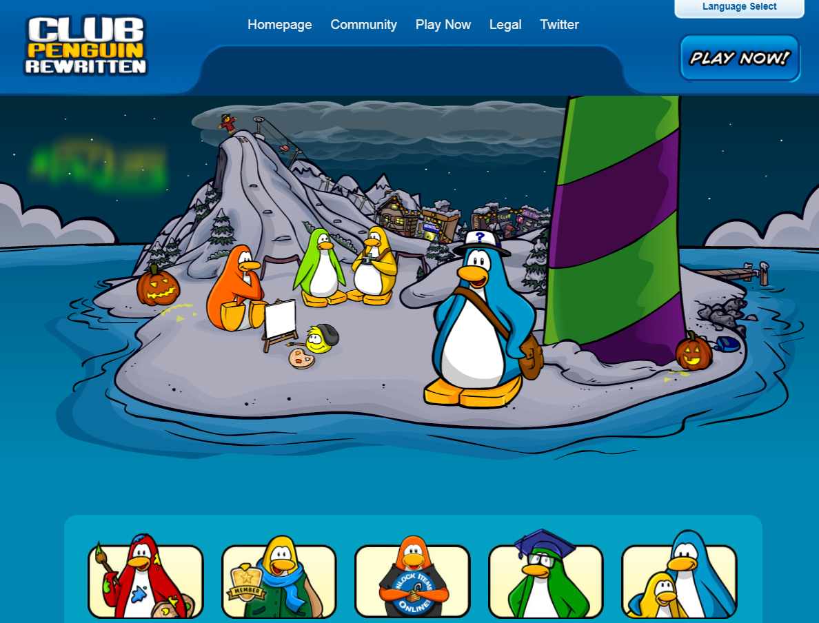 H Club Penguin Club Penguin Di...